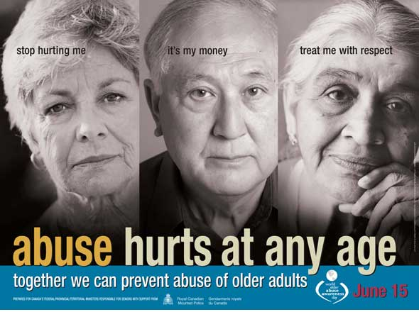 the issue of abusing elders and the disabled of the community However, high rates of abuse globally suggest that increased attention to the issue of elder abuse is warranted, including investment in development and assessment of elder abuse interventions to help reduce the spread and effect of elder abuse.