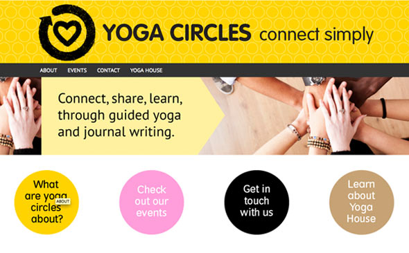 yoga circles website